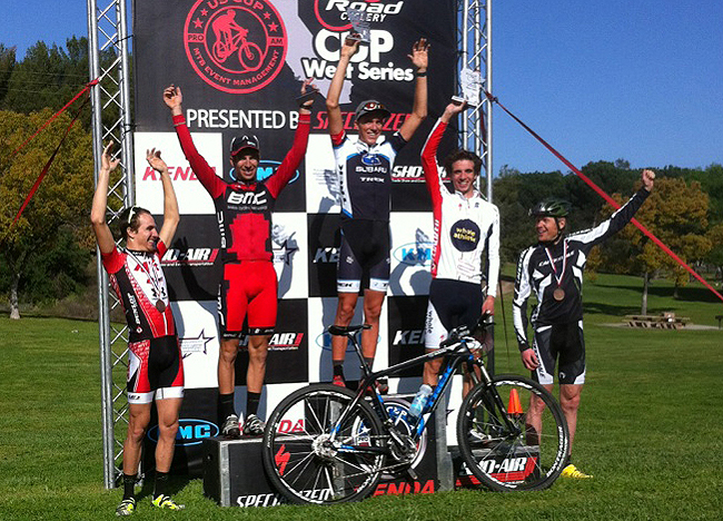 Zach Valdez, ProXCT podium