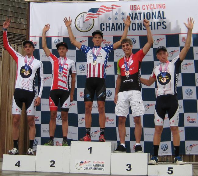 U23 XC podium