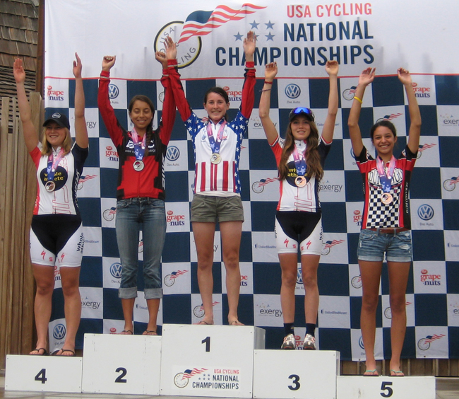 Junior Women 17/18 XC podium