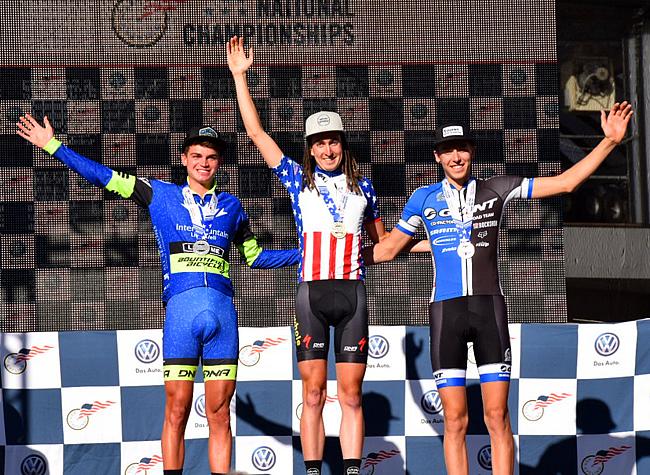 U23 podium