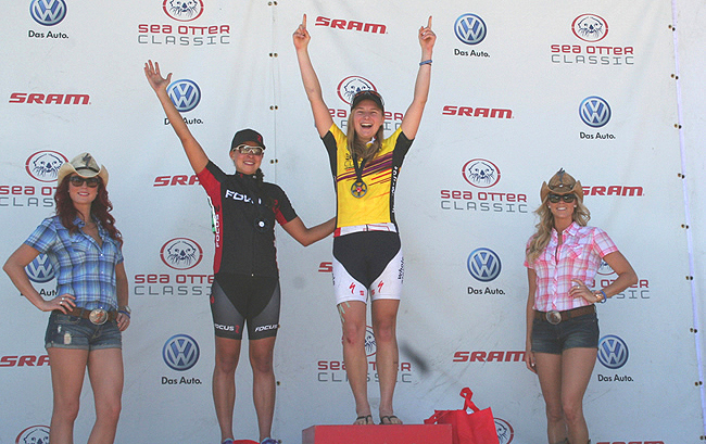 Kate Courtney, Josie Nordrum, sea otter classic