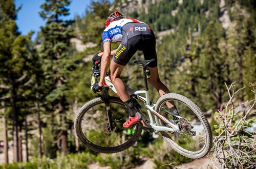 christopher blevins mountain bike