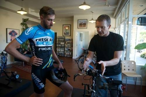 whole athlete dario fredrick bike fitting