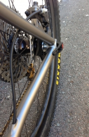 Bingham Built Custom Titanium Hardtail Mountain Bike