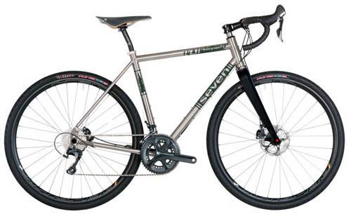 Custom Seven Titanium Gravel Bike