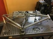 Eriksen Gravel bike, flat mount disc brake