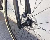 seven axiom disc custom titanium road bike