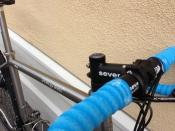 seven evergreen custom titanium gravel bike