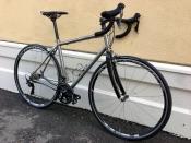 seven redsky gravel fender bike
