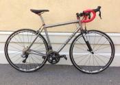 Eriksen Layback Seatpost whole athlete custom bike