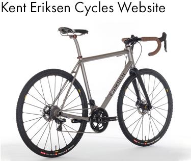 Whole Athlete Custom Eriksen Bicycles