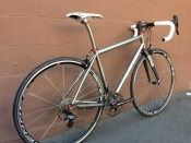 whole athlete custom eriksen titanium road bike