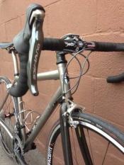 whole athlete custom eriksen titanium road gravel bike