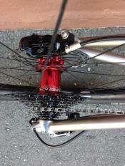 whole athlete custom bike Chris King hub