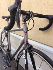 Eriksen Titanium custom Road bike