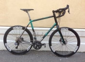 Seven Titanium Evergreen Road Gravel bike