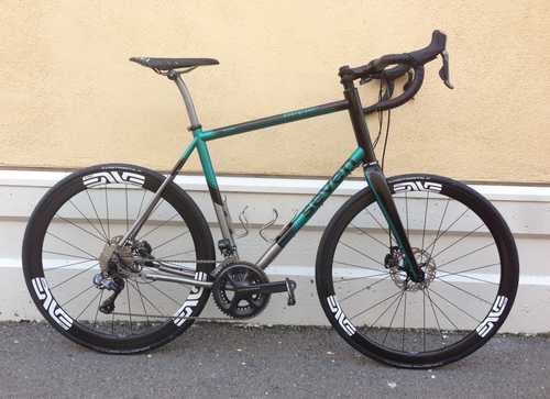 Seven Titanium Evergreen - Road / Gravel