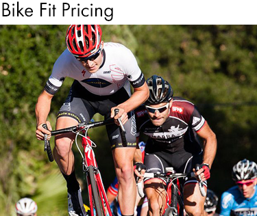 Whole Athlete Bike Fit Pricing