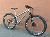 Eriksen Titanium MTB custom bike whole athlete