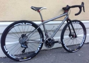 Eriksen Titanium gravel custom bike whole athlete