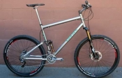 Eriksen Titanium 29er MTB custom bike whole athlete