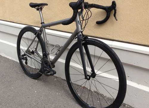 Eriksen Titanium Road custom bike whole athlete