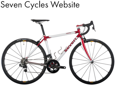 Whole Athlete Custom Seven Cycles