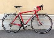 Custom Falconer Touring bike